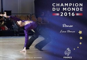 Guillaume Richard - Champion du monde 2016 - Line Dance