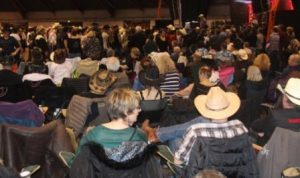 Salon Country Western, ambiance Festival